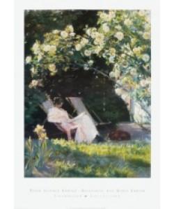 Peder Severin Kroyer, Havepartie med Marie Krøyer