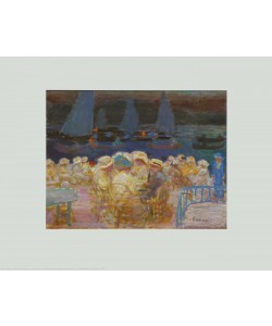 Pierre Bonnard, Dämmerung beim Fährhaus d'Uhlenhorst