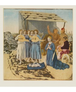 Piero Francesca, Die Geburt Christi