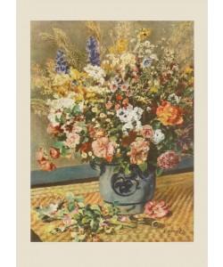 Pierre-Auguste Renoir, Feldblumenstrauß (Kupfertiefdruck)