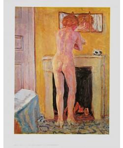Pierre Bonnard, Akt am offenen Kamin