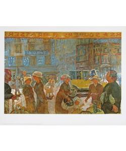 Pierre Bonnard, La Place Clichy