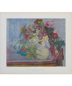 Pierre Bonnard, Violetter Blumenstrauß