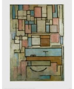 Piet Mondrian, Komposition mit Farbfeldern