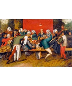 Pieter Brueghel der Jüngere, Hochzeitsmahl
