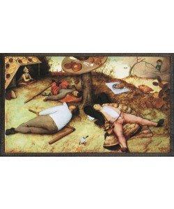 Pieter Brueghel der Ältere, Das Schlaraffenland