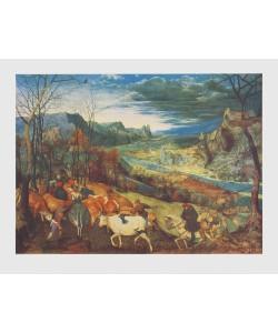 Pieter Brueghel der Ältere, Der Herbst (Die Heimkehr der Herde), 1565