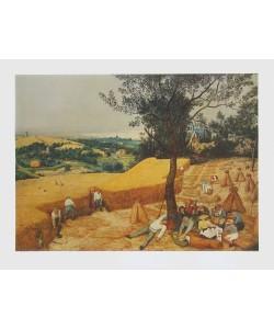 Pieter Brueghel der Ältere, Der Sommer (Die Kornernte)