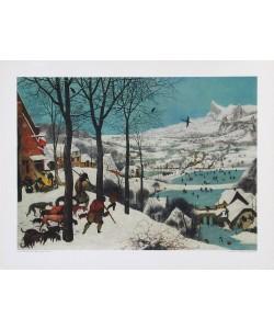 Pieter Brueghel der Ältere, Der Winter (Die Jäger im Schnee)