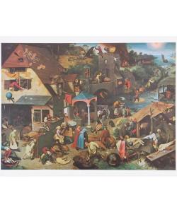 Pieter Brueghel der Ältere, Die niederländlischen Sprichwörter