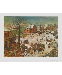 Pieter Brueghel der Ältere, Die Volkszählung zu Bethlehem, 1566