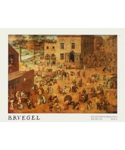 Pieter Brueghel der Ältere, Kinderspiele, 1560