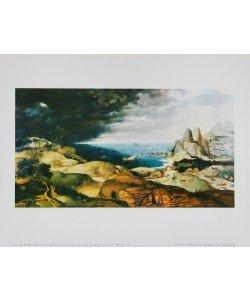 Pieter Brueghel der Ältere, Landschaft mit der Buße des Hl.Hieronymus
