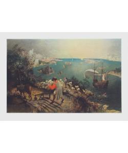 Pieter Brueghel der Ältere, Landschaft mit Sturz des Ikarus