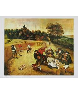 Pieter Brueghel der Ältere, Mahlzeit der Schnitter (Erntearbeiter)