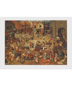 Pieter Brueghel der Ältere, Streit des Karnevals mit den Fasten, 1559