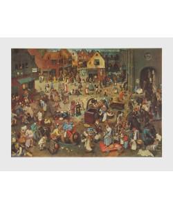 Pieter Brueghel der Ältere, Streit des Karnevals mit den Fasten