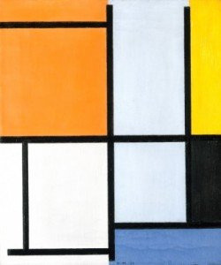 Piet Mondrian, Komposition 1921