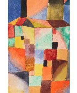 Paul Klee, Rot/Grün Orange/Blau