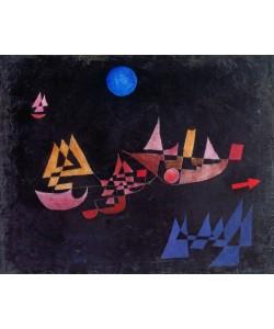 Paul Klee, Abfahrt der Schiffe