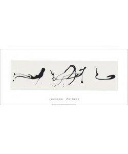 Zeichnung Tropftechnik, Jackson Pollock