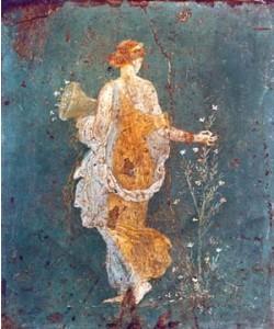 Pompeji, Flora mit dem Füllhorm