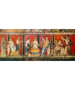 Pompeji, Fresko, Dionysische Mysterien