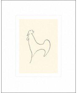 Pablo Picasso, Le Coq-Detail