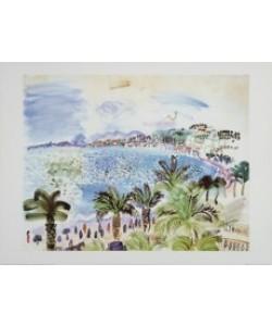 Raoul Dufy, &#34La Promenade des Anglais&#34, 1928