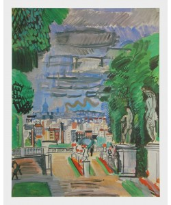 Raoul Dufy, Le Parc de Saint Cloud, 1919