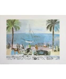 Raoul Dufy, Promenade in Nizza