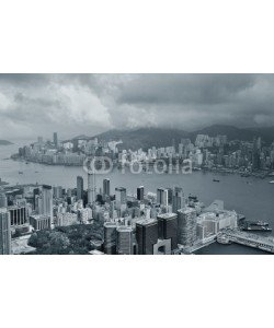 rabbit75_fot, Hong Kong aerial view