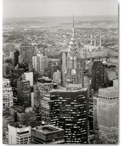 Ralf Uicker, New York View over Chrysler Building