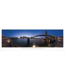 Randy Kosek, Brooklyn Bridge at dusk