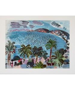 Raoul Dufy, Landschaft am Mittelmeer