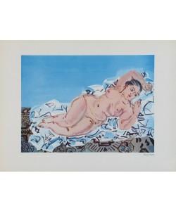 Raoul Dufy, Liegender Akt