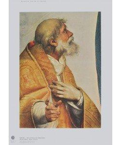 Raphael, Sixtinische Madonna - Papst Sixtus (Ausschnitt)