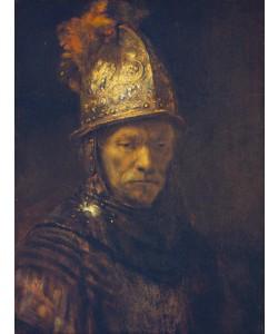 Rijn van Rembrandt, Der Mann mit dem Goldhelm