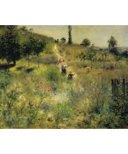 Pierre-Auguste Renoir, Ansteigender Weg im Grünen