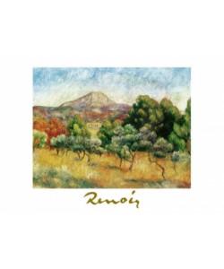 Pierre-Auguste Renoir, Il Mont Saint Victoire, 1889