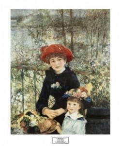 Pierre-Auguste Renoir, On the Terrace, 1881