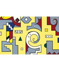Roy Lichtenstein, American Composition II