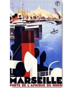 Roger Broders, Marseille, Porte de l´Afrique