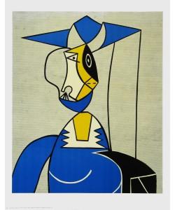 Roy Lichtenstein, Frau mit Hut