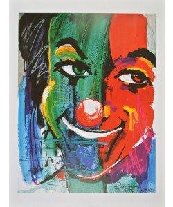 Rolf Knie, Gesicht eines Clowns, 1989