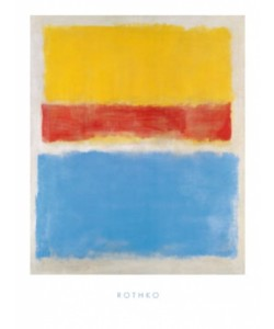 Mark Rothko, Untitled (Yellow-Red and Blue)