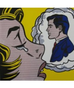Roy Lichtenstein, Thinking of Him 1963