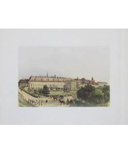 Rudolf Alt, Alte Hofburg mit Bellaria in Wien