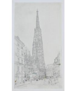 Rudolf Alt, Der Stephansturm in Wien