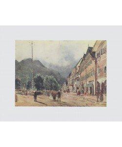 Rudolf Alt, Die Esplanade in Bad Ischl